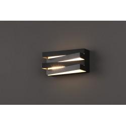 Sieninis šviestuvas ARAXA juodas - 2 - 113,72€
