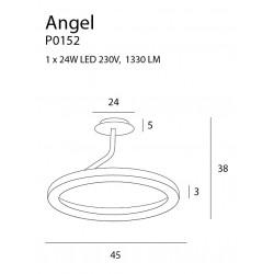 Pakabinamas šviestuvas ANGEL - 4 - 345,33€