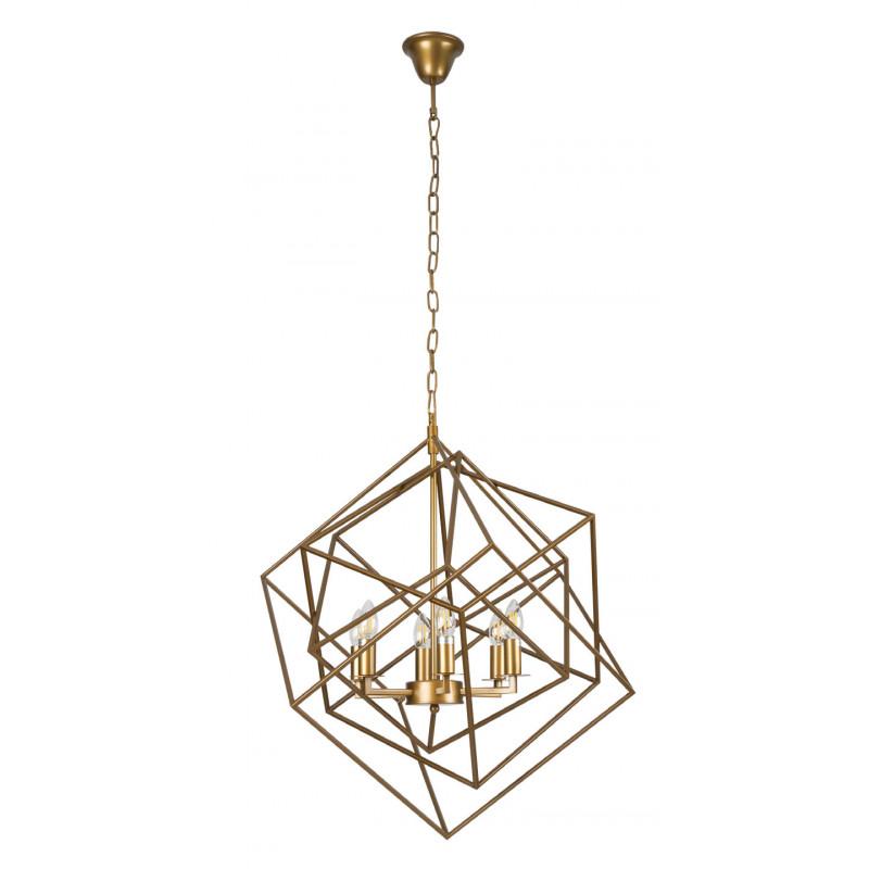 Pakabinamas šviestuvas ANDORA žalvario - 1 - 476,03€