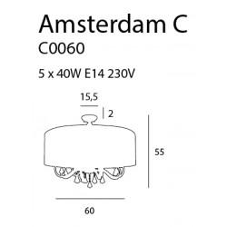 Plafonas AMSTERDAM 60 cm - 5 - 495,57€