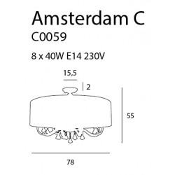 Plafonas AMSTERDAM 78 cm - 4 - 695,33€