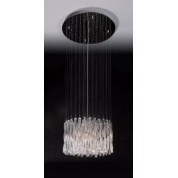 Pakabinamas šviestuvas BILBAO mažas CLEAR 50 cm - 2 - 773,23€