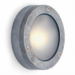 Plokščias apvalus aliuminio lauko šviestuvas - 1 - 30,00€
