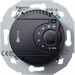 Renova juodas termostatas