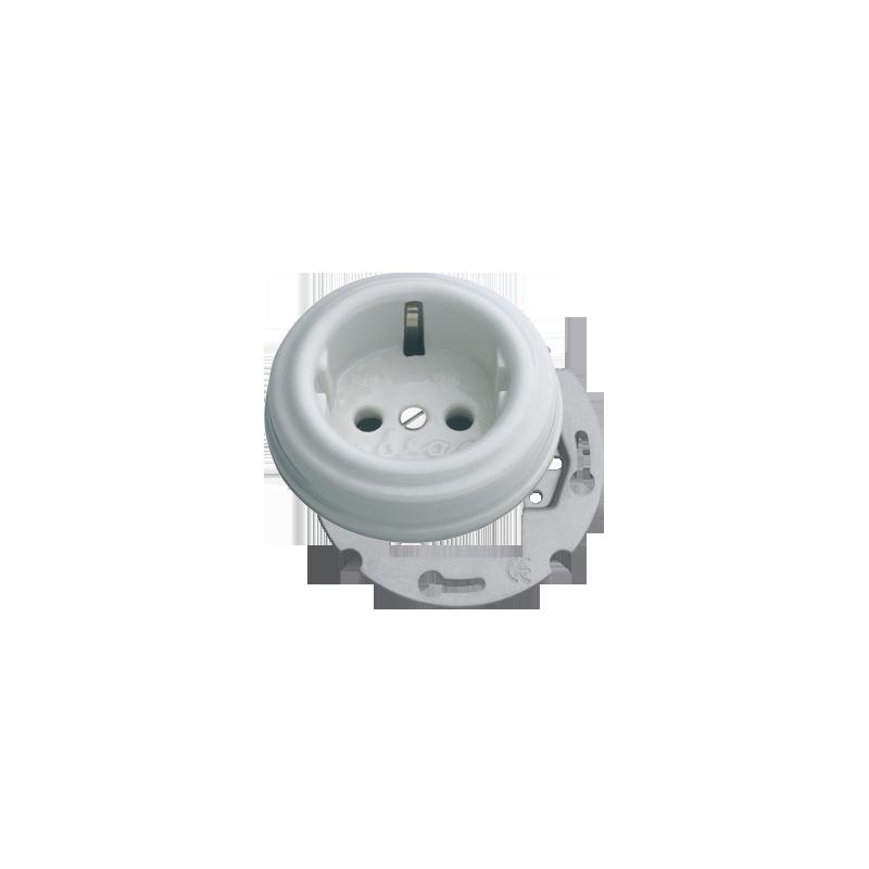 LLinas BCN porceliano elektros rozetė