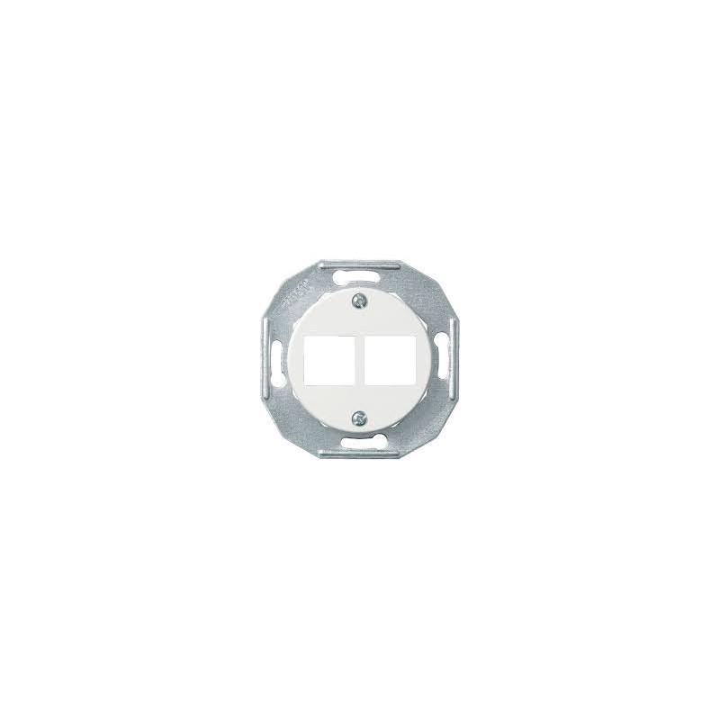 Renova baltas kompiuterinio lizdo dangtelis 2x RJ45 - 1 - 11,05€